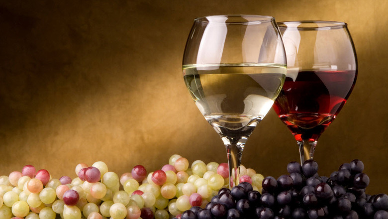 Red white wine grapes