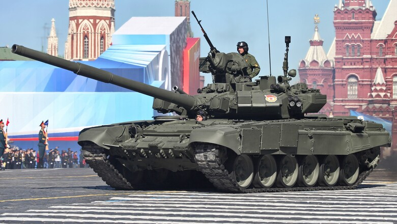 Moscow vehicle weapon tank military russia russian army army t 90 red square land vehicle combat vehicle self propelled artillery 34471