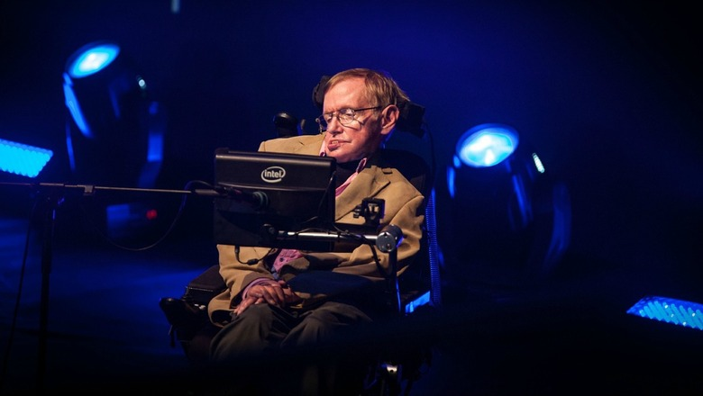 Real stephen hawking